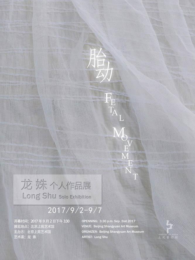 【展讯】龙姝个展9.2在上苑艺术馆  Longshu